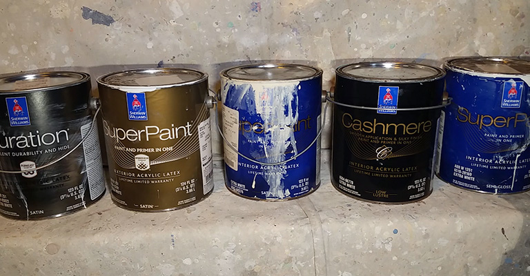 Sherwin Williams Stains or Paints