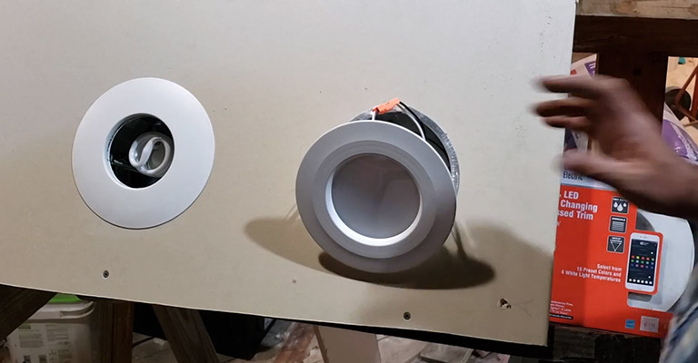 Can vs Canless Recessed Light FI