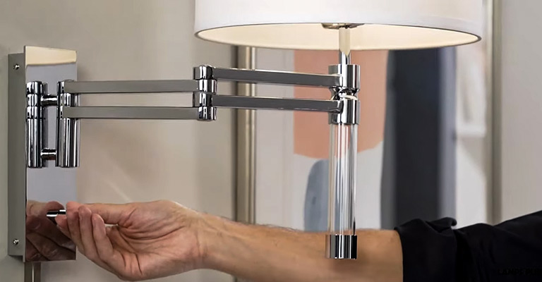 How Do You Install A Swing Arm Wall Lamp FI