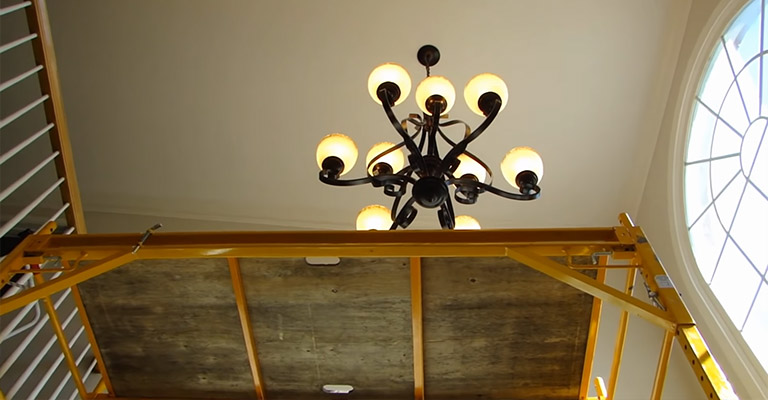 Can You Hang A Chandelier On A Vaulted Ceiling