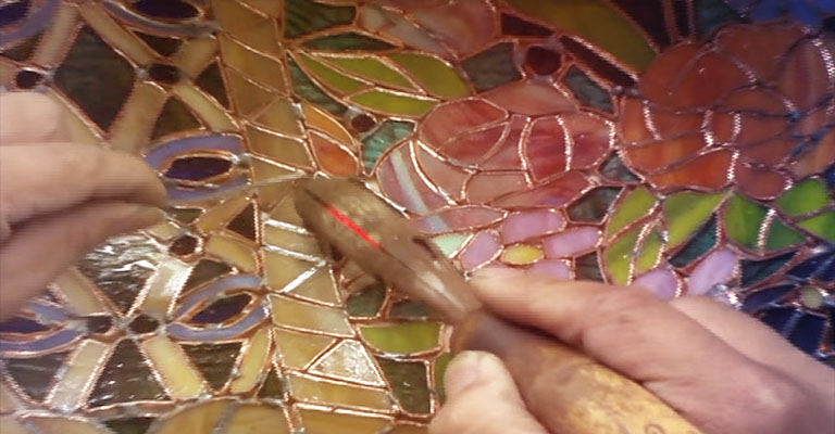 How A Tiffany Lamp Is Made
