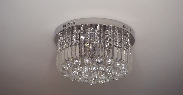 How To Convert A Chandelier To Flush Mount