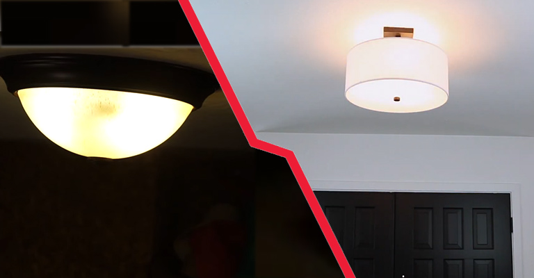 What Is The Difference Between A Semi Flush And A Flush Mount Fixture