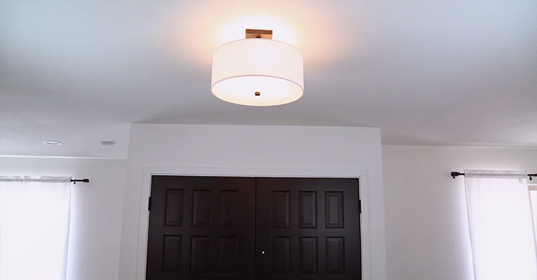 What Is A Semi-Flush Ceiling Light