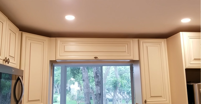 Where Should Recessed Lighting Be Placed In Kitchen